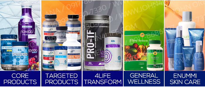 4life transfer factor products