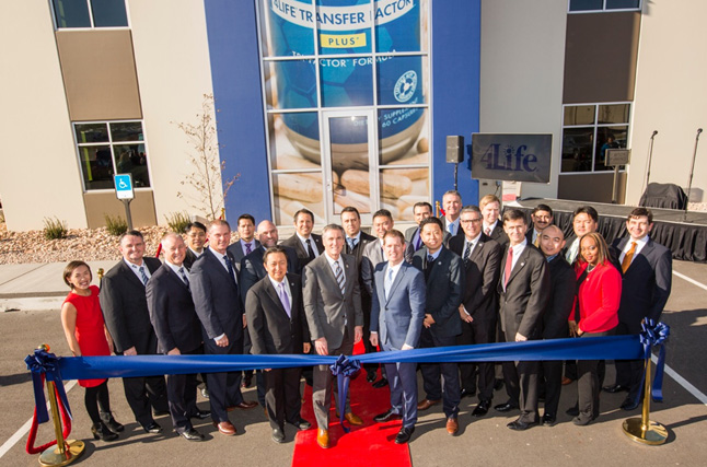 4Life Opens New Manufacturing Facility