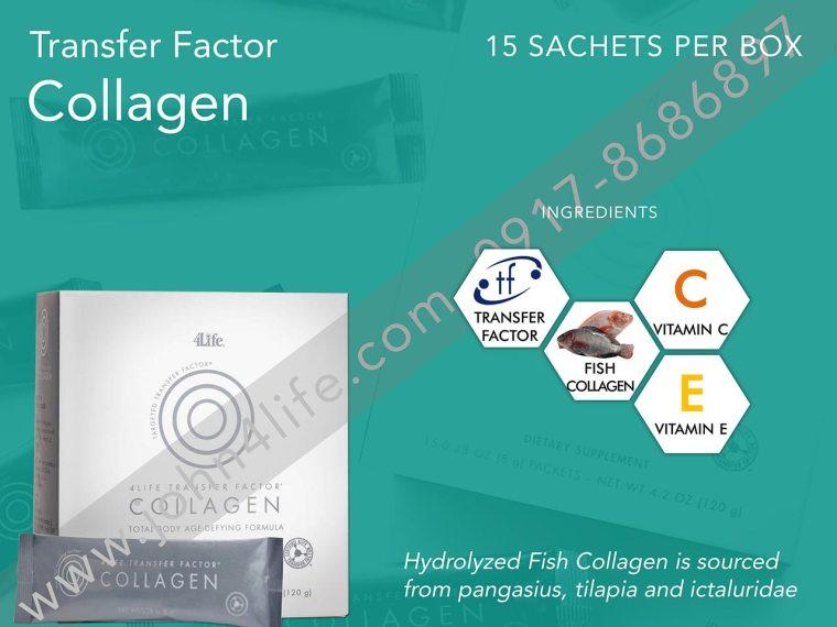 marine collagen, vitamin c, vitamin e