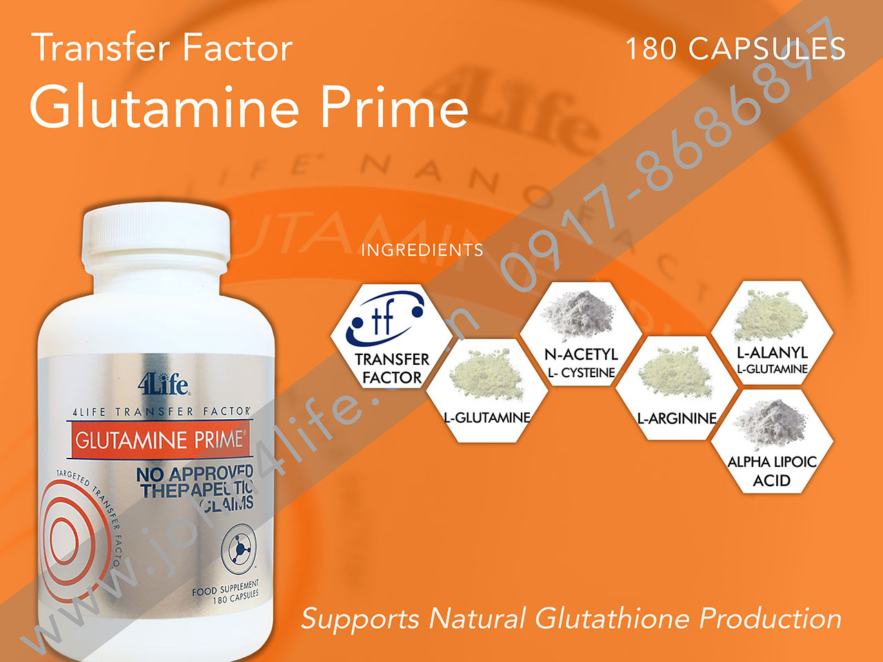 4life glutathione, amino acid, antioxidant